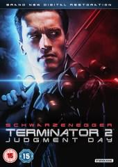 TERMINATOR 2: Judgment Day 2D DVD UK