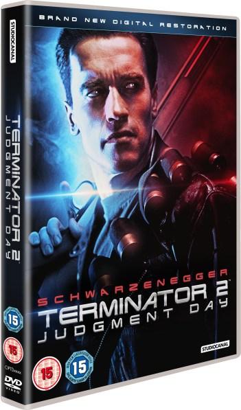 TERMINATOR 2: Judgment Day DVD UK