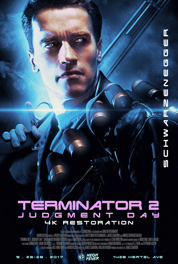 Terminator 2 4K Restoration Screenings North Park Theatre