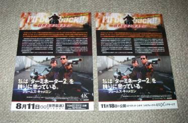 Terminator 2 3D 4DX Japan
