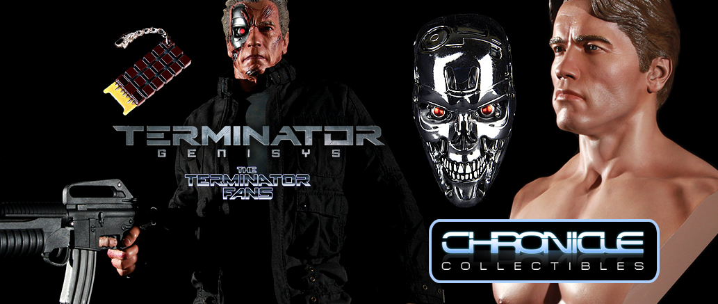 WIN Premium Terminator Genisys T-800 Prizes With Chronicle Collectibles