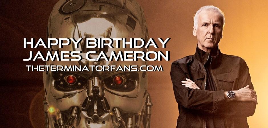 James Cameron Happy Birthday