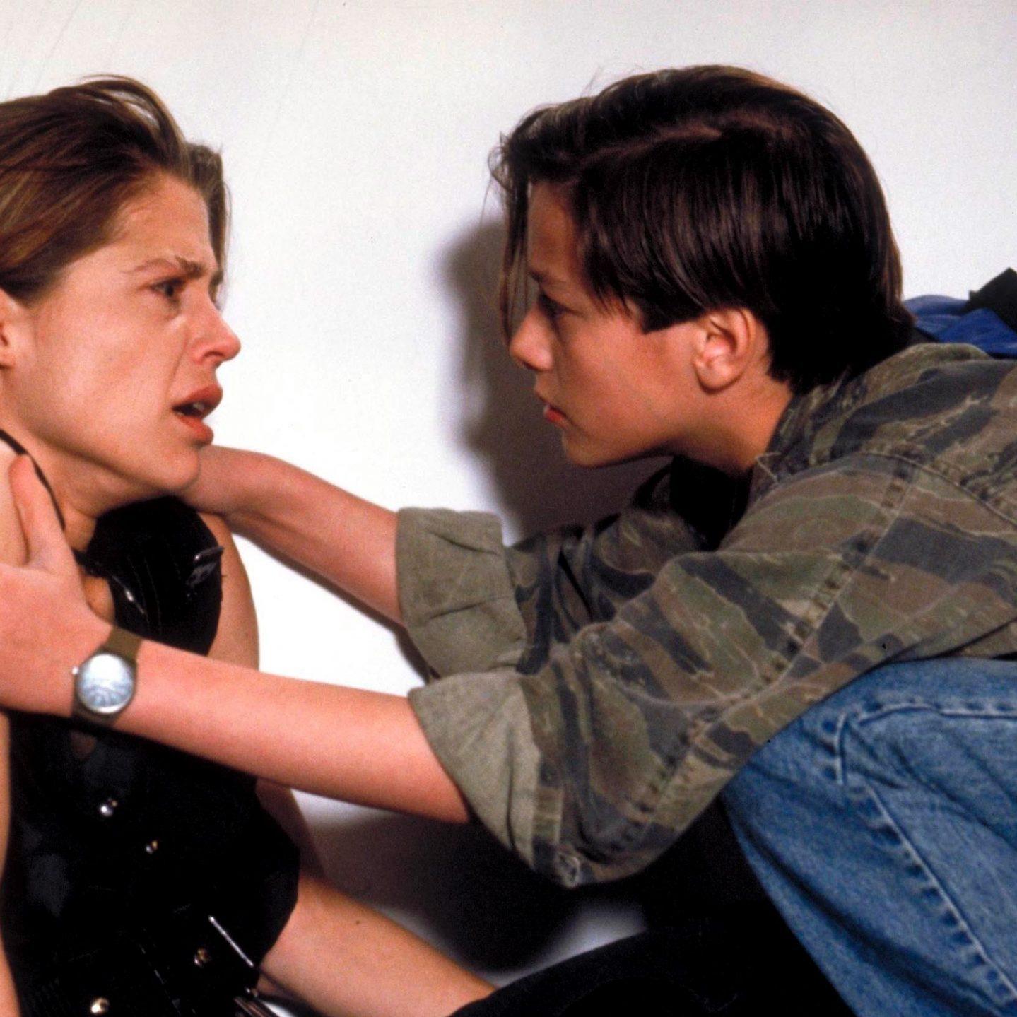Terminator 2 Sarah and John Connor