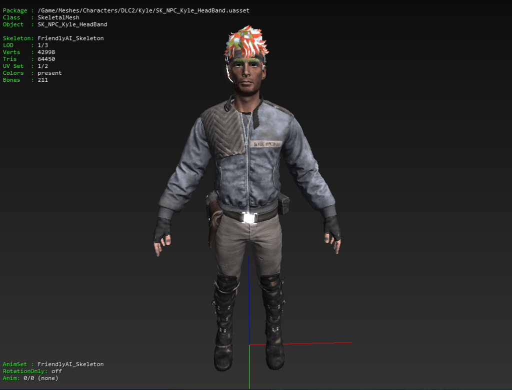 Kyle Reese Terminator: Resistance Mesh Model from Data Mined Leaks