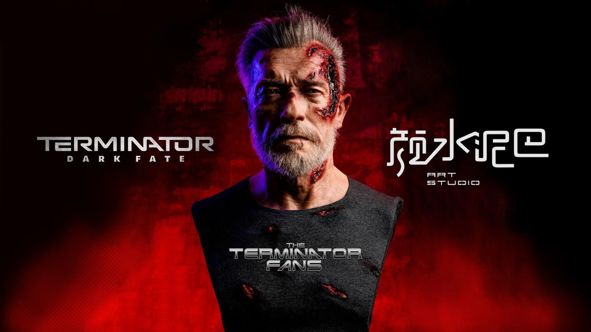 Art Studio Terminator: Dark Fate - Arnold Schwarzenegger Bust