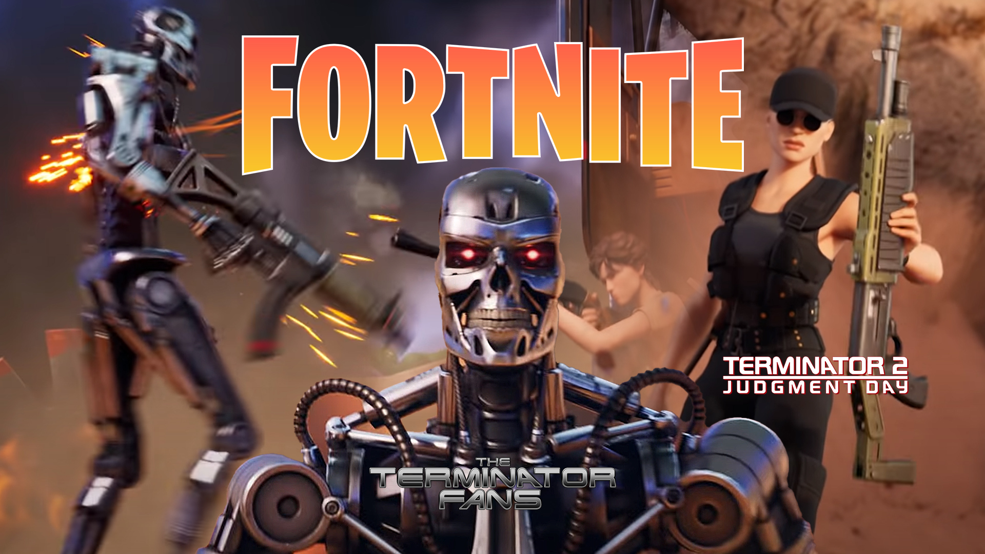 Fortnite Zero Crisis Season 6 Trailer Terminator Sarah Connor