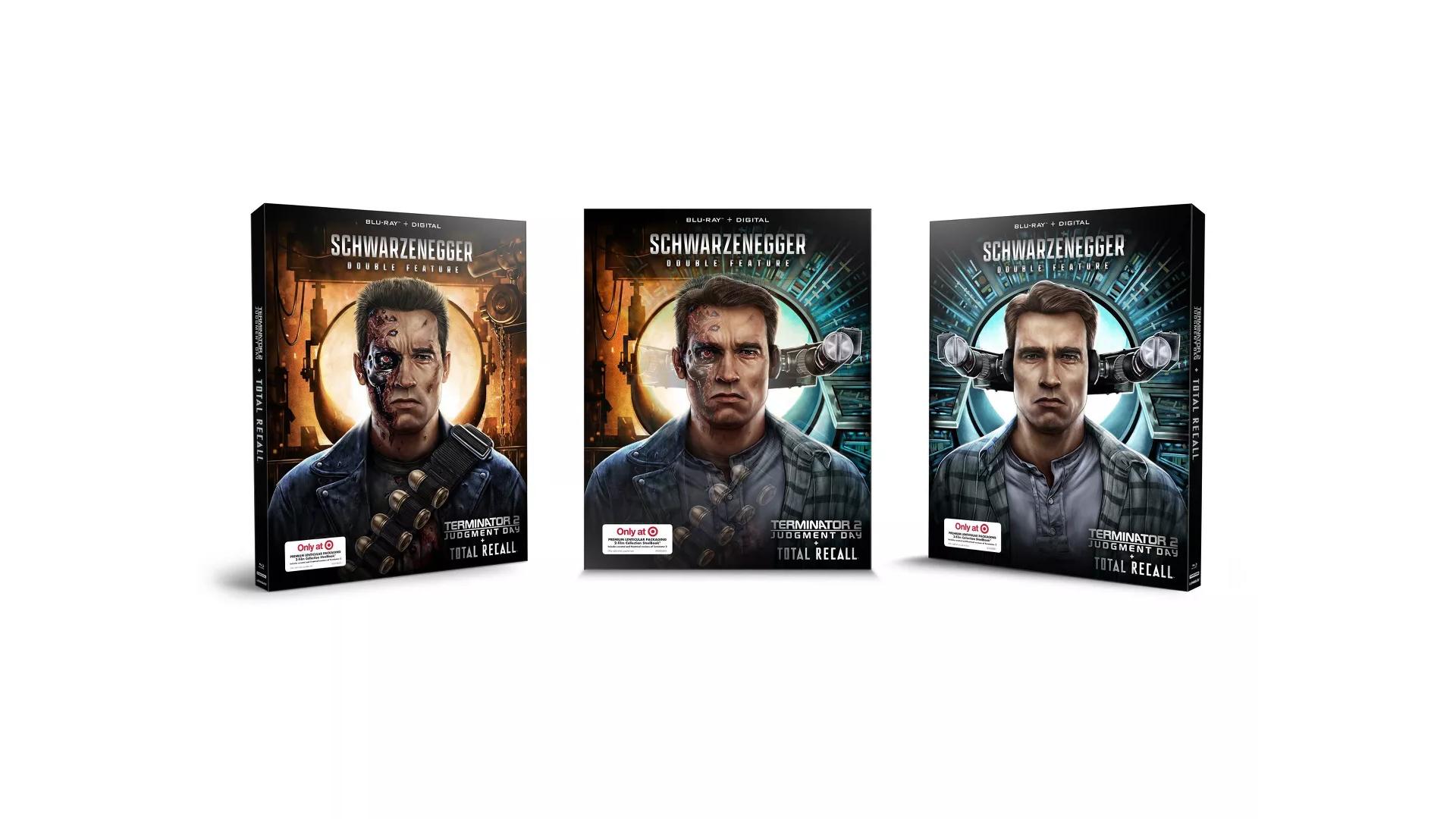 Terminator 2 & Total Recall: Double Pack (Target Exclusive SteelBook) (Blu-ray + Digital)