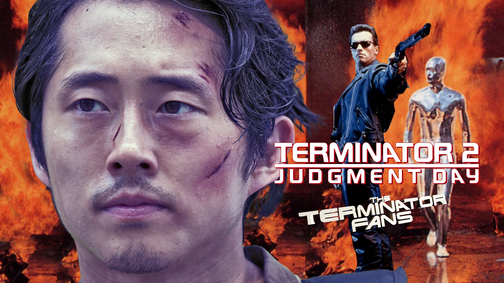 Steven Yeun Shares Memory of Watching Terminator 2: Judgment Day