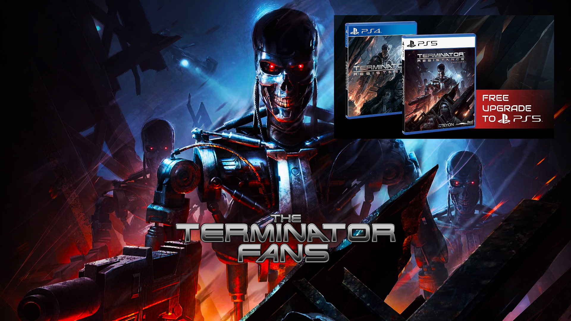 Terminator Resistance Enhanced Free Upgrade for PS4 to PS5 Delayed