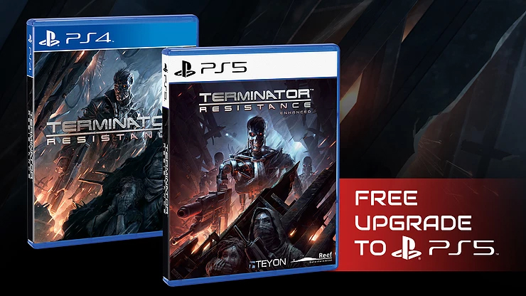 Terminator Resistance Enhanced PS4 to PS5 Upgrade Delayed