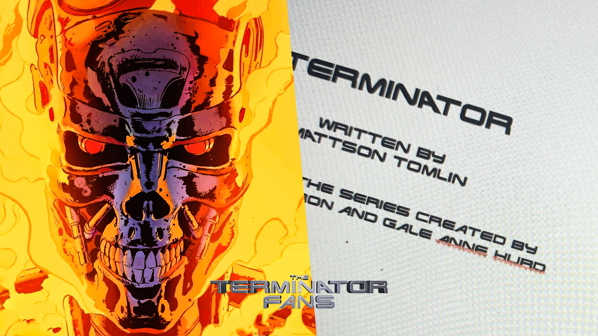 NETFLIX Terminator Anime Series Mattson Tomlin Script