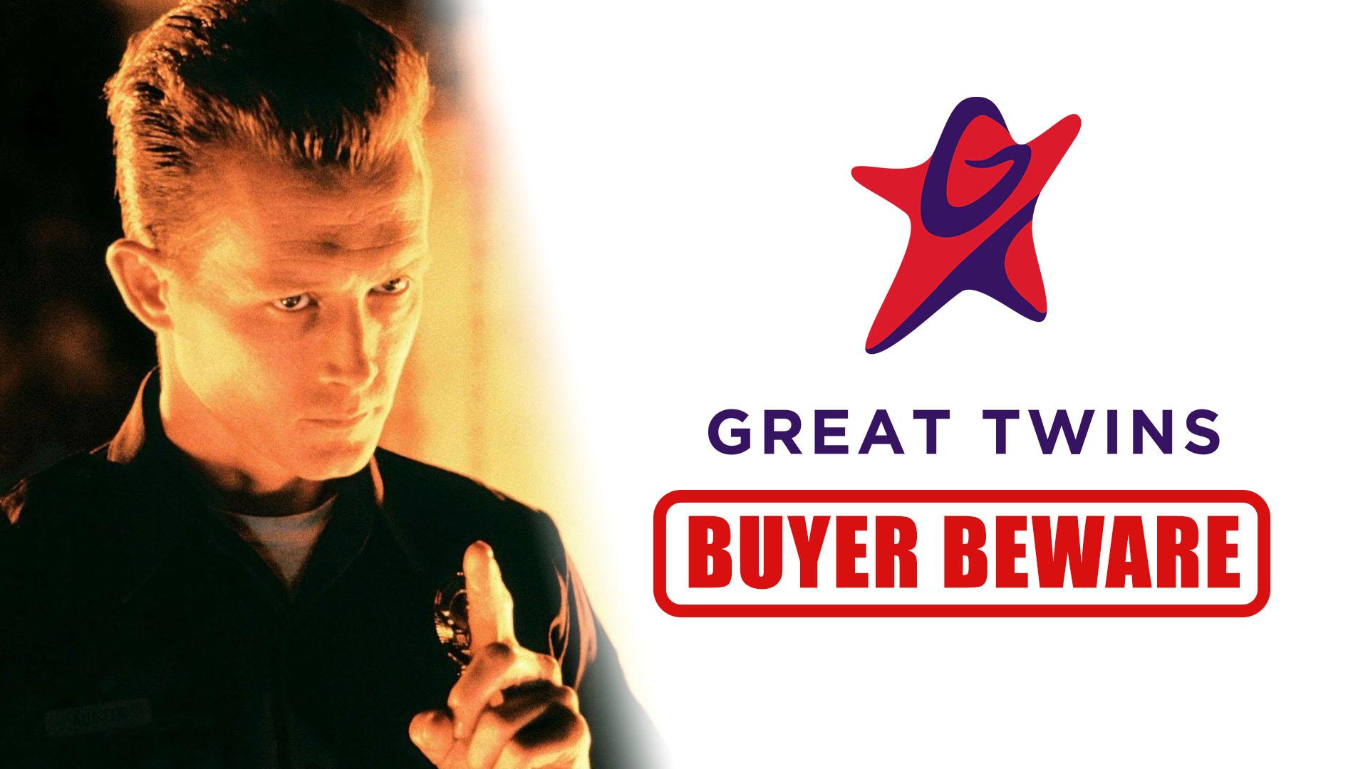 Great Twins Buyer Beware Terminator Supreme Action Figures