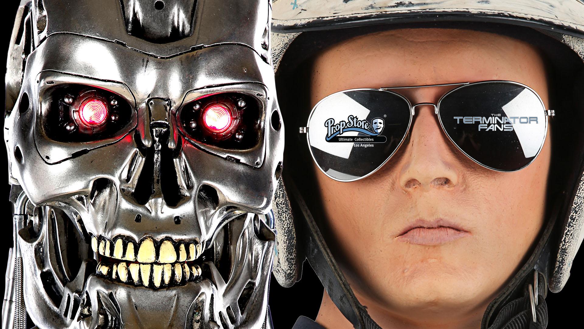 Prop Store Entertainment Memorabilia Live Auction 2021 Terminator Items