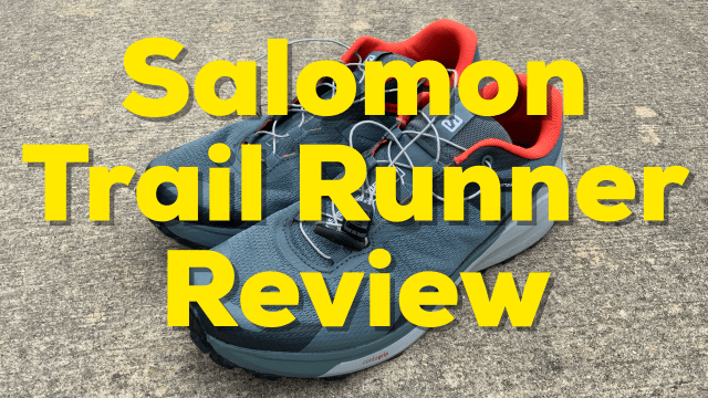 Salomon Trail Runner Review
