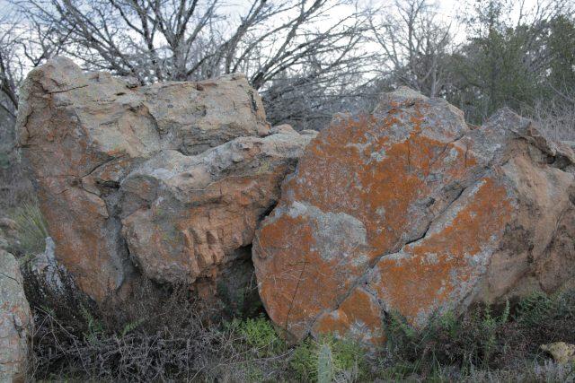 Amazing rocks at Inks Lake State Park