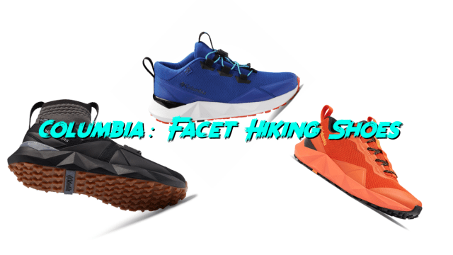 First Look: Columbia Facet Hiking Shoes