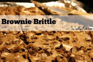 Homemade Brownie Brittle (that totally beats Costco's!)