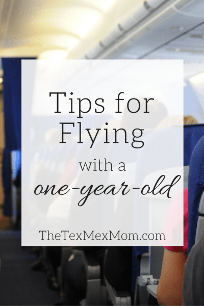 Flying with a one year old