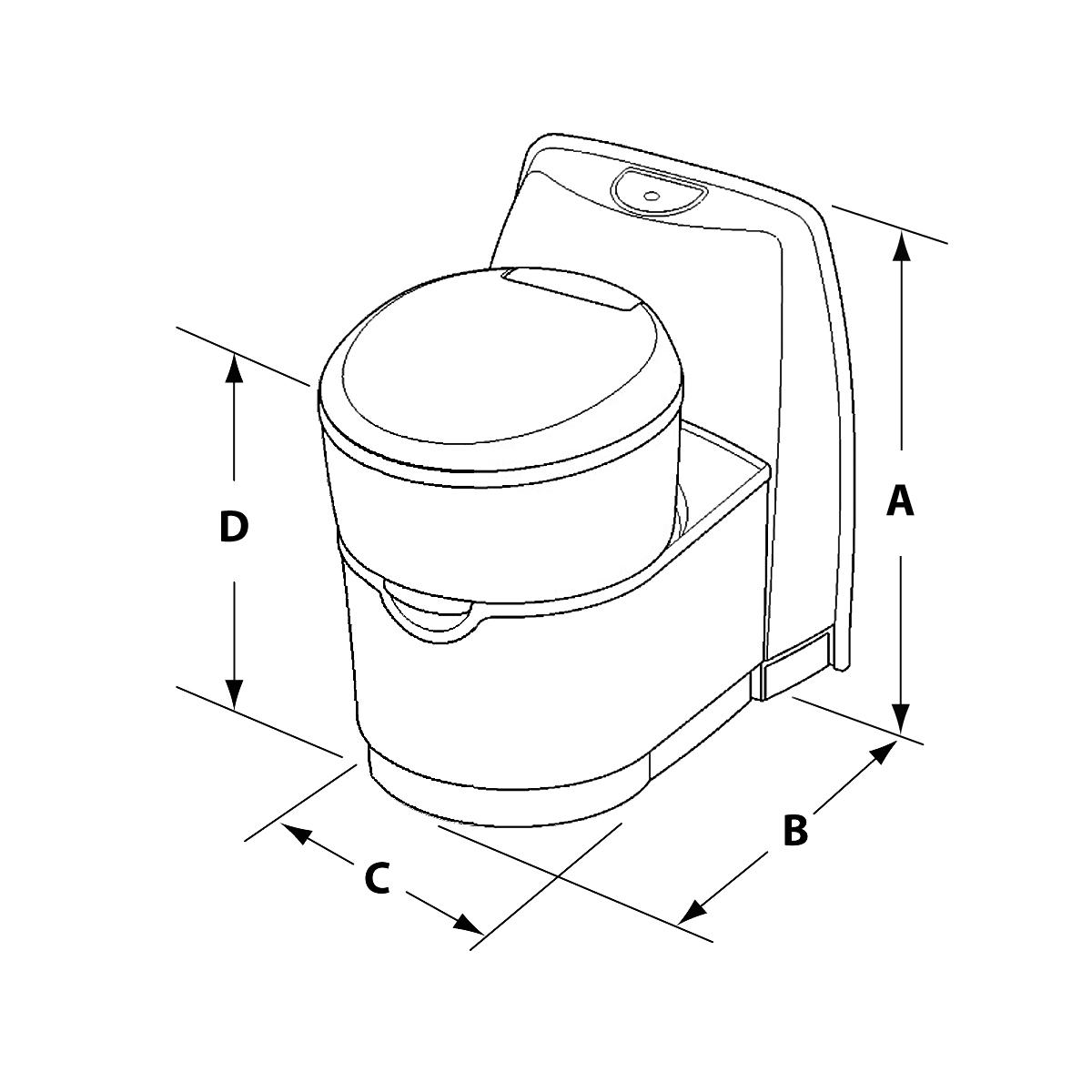 C220 S Cs Cw Cassette Toilets