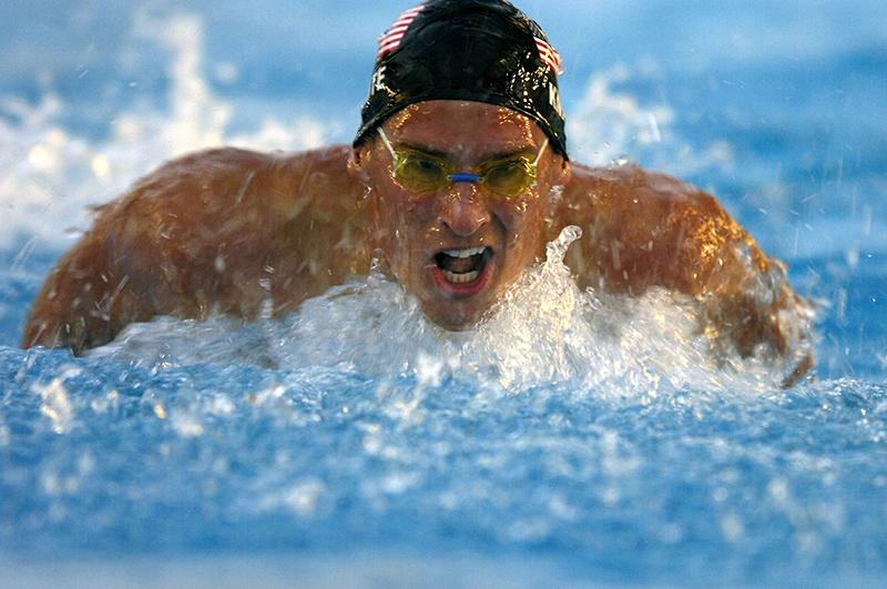pro swimmer