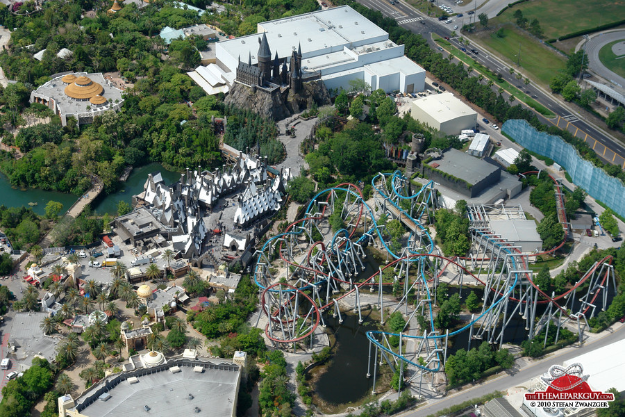 Image result for Harry Potter Theme park