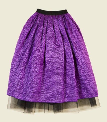 Marc Jacobs Crinkle Taffeta Full Skirt