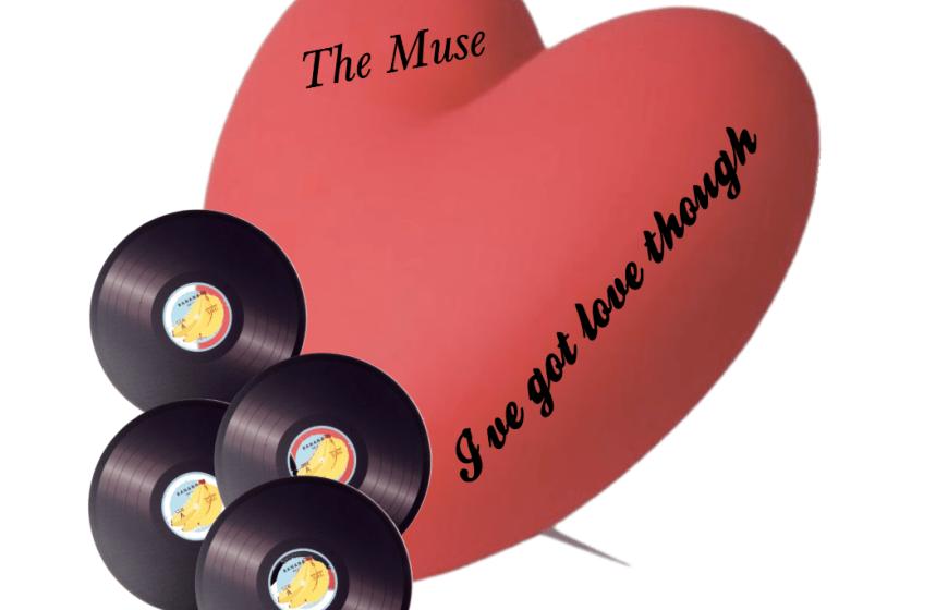 vinyl and hearts