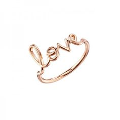 Sydney Evan Gold Love Ring