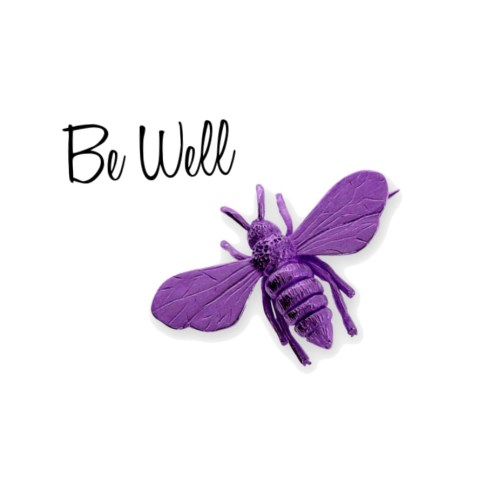 Be Well Purple Bee