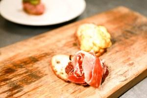 Ham and Cauliflower Tartinettes