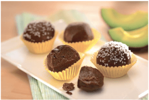 Dark Chocolate Avocado Truffles
