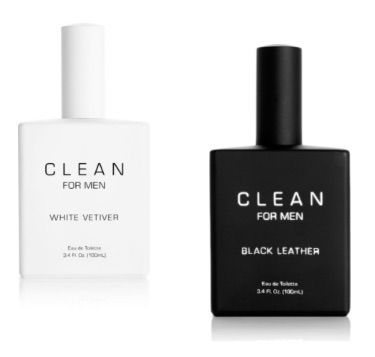CLEAN White Vetiver and CLEAN Black Leather