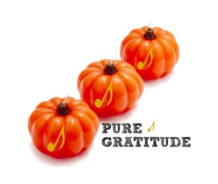 Pumpkin Candles Thanksgiving