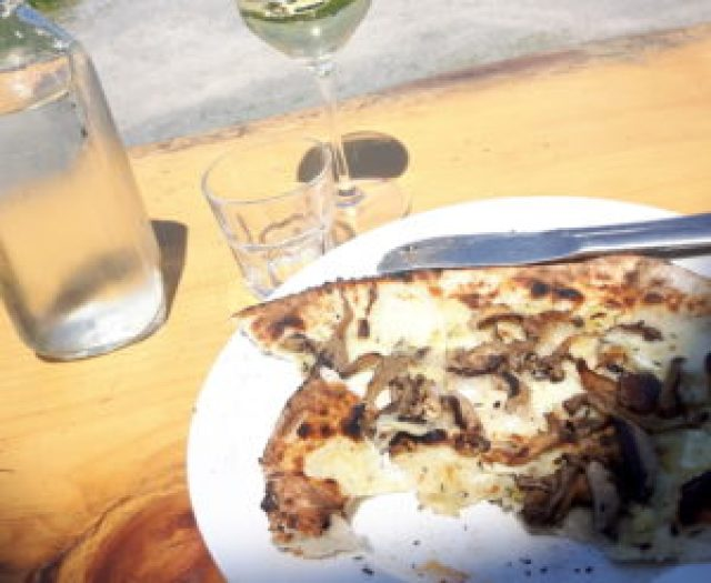 Norman Hardie Winery Wood Burning Pizza