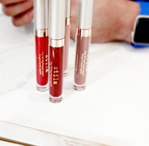 Nude and Red Stila Stay All Day Lipstick