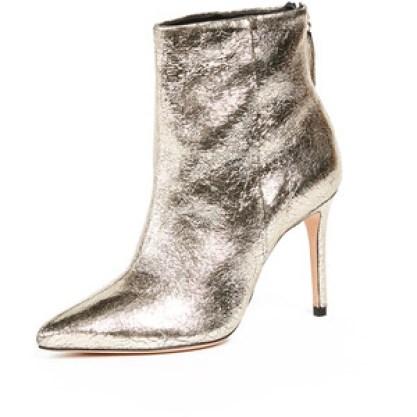 Schutz Women's GINNY Boot, platina