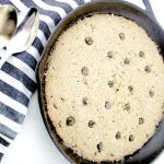 Guilt-free Paleo Collagen Chocolate Chip Cookie Skillet Recipe