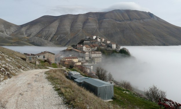The city of Castelluccio in Norcia