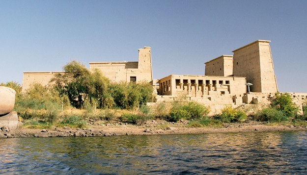 Philae via Wikimedia Commons