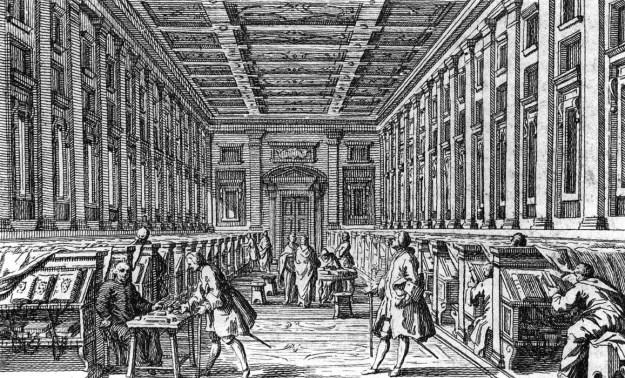 Biblioteca Medicea Laurenziana by Francesco Bartolozzi.