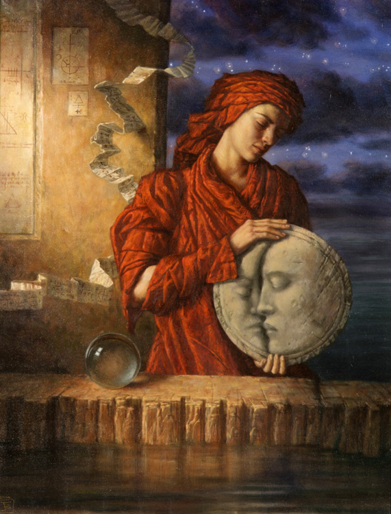 Drawing Moon by Jake Baddeley.