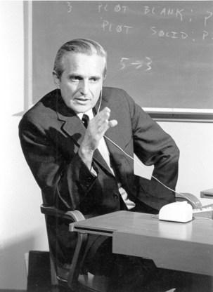 Douglas Engelbart au SRI en 1968