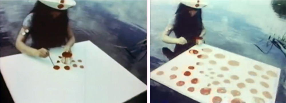Stills from Self-Obliteration (1968) A film by Yayoi Kusama & Jud Yalkut. Colour, Sound, 16 mm, 24 mins.