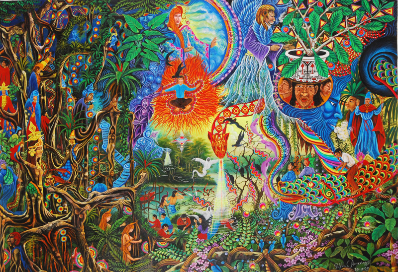 The Third Eye Magazine_Pablo Amaringo_Peru-Ayahuasca Visions-001