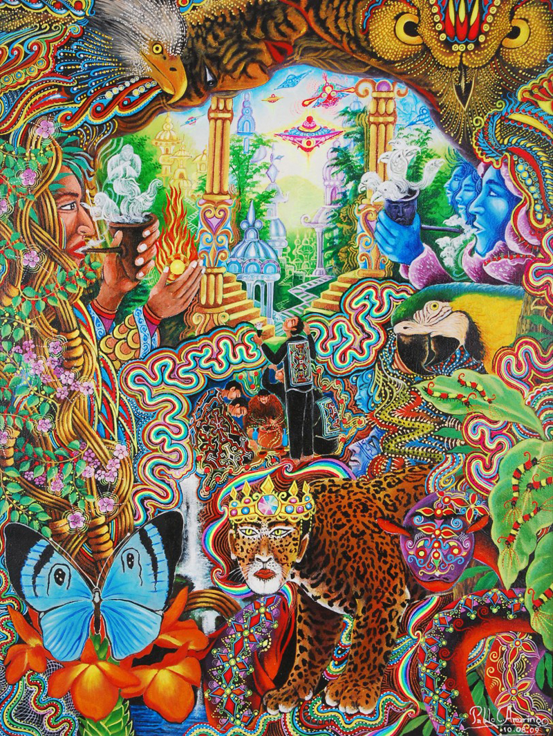 The Third Eye Magazine_Pablo Amaringo_Peru-Ayahuasca Visions-17