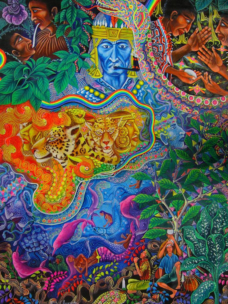 The Third Eye Magazine_Pablo Amaringo_Peru-Ayahuasca Visions-23