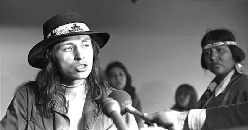 """TAKE BACK THE EARTH"": The Empowering Speech of Native American Rights Defender John Trudell"