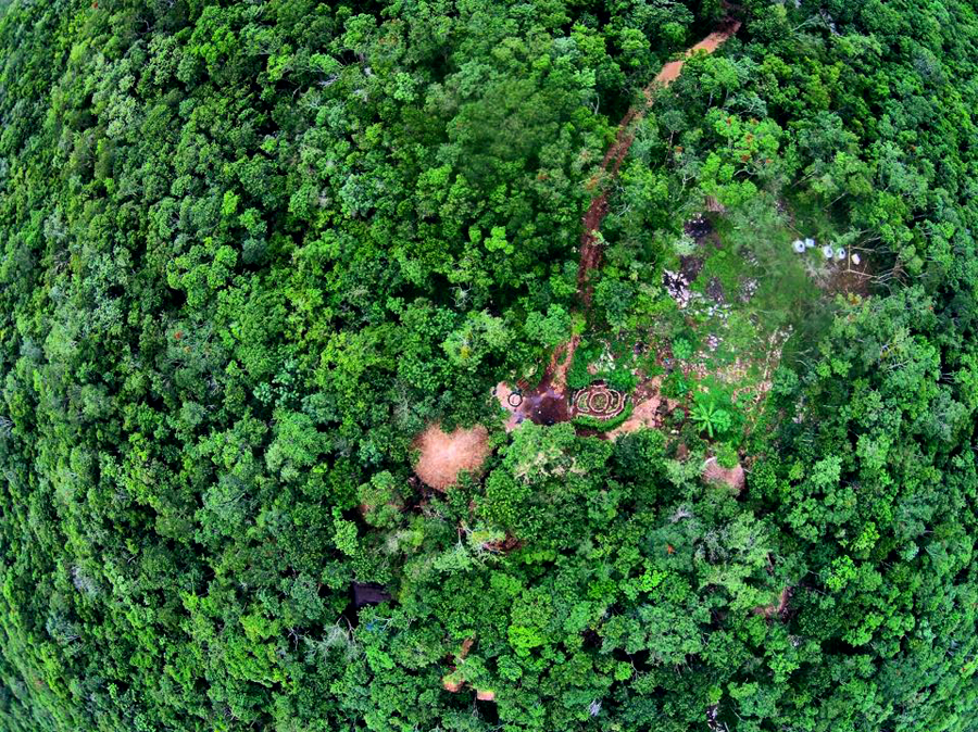 Some aerial UAV photography of Lemurian Embassy as of September 2015!