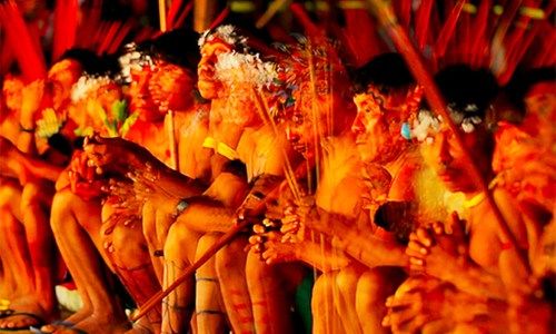 DANCING WITH THE XAPIRI SPIRITS IN THE BRAZILIAN AMAZON