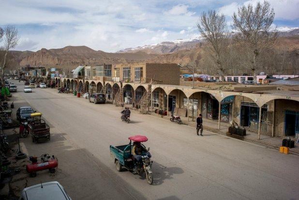 Bamiyan town centre, Afghanistan, Rick Findler